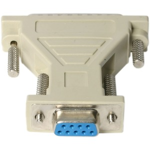 StarTech.com Data Transfer Adapter - 1 Pack - 1 x DB-9 Female Serial - 1 x DB-25 Male Serial - Beige