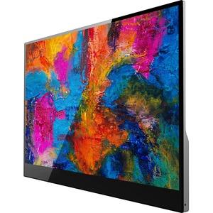 "V7 L156TCH-1G 39.6 cm (15.6"") LCD Touchscreen Monitor - 16:9 - 15 ms - 406.40 mm ClassMulti-touch Screen - 1920 x 1080 - F"
