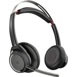 Plantronics Voyager Focus UC B825-M Wireless Over-the-head Stereo Headset - Binaural - Supra-aural - Bluetooth