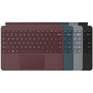 Microsoft Type Cover Keyboard/Cover Case Microsoft Surface Go 2, Surface Go Tablet - Black - Stain Resistant - MicroFiber