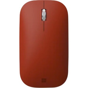 Microsoft Surface Mobile Mouse - Bluetooth - BlueTrack - Poppy Red - Wireless - 2.40 GHz - Scroll Wheel