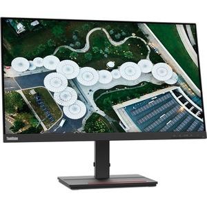 """Monitor LCD Lenovo ThinkVision S24e-20 60,5 cm (23,8"""") Full HD - 16:9 - Raven Black - 609,60 mm Class - Vertical Alignment"""