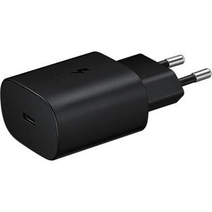 SAMSUNG TRAVEL ADAPTER 25W W/O CABLE TA800 BLACK