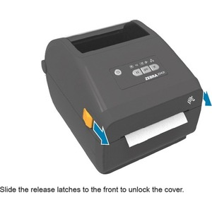 Zebra ZD421d Desktop Direct Thermal Printer - Monochrome - Label/Receipt Print - USB - Yes - Bluetooth - Near Field Commun