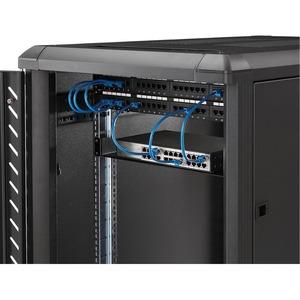 "StarTech.com Ripiano universale per montaggio a rack fisso profondità 7"" 1U - 15kg - 15,06 kg Static/Stationary Weight Cap"