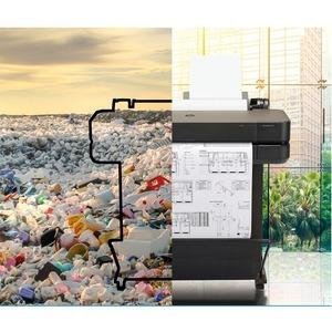 "HP Designjet T630 Inkjet Large Format Printer - 610 mm (24.02"") Print Width - Colour - Printer - 4 Color(s) - 30 Second Co"