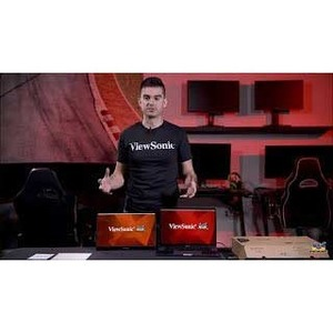 """Viewsonic VG1655 39.6 cm (15.6"""") Full HD LED LCD Monitor - 16:9 - Silver - 406.40 mm Class - In-plane Switching (IPS) Tech"""