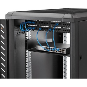 StarTech.com Estante Bandeja Estándar para Armario Rack Universal de Servidores - 20 kg Capacidad de Peso Estático