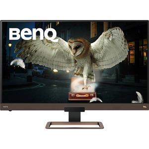 """BenQ Entertainment EW3280U 81.3 cm (32"""") 4K UHD WLED Gaming LCD Monitor - 16:9 - Metallic Black, Metallic Brown - 812.80 m"""