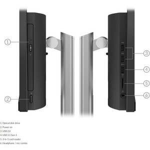 Lenovo V50a 24IMB 11FJ0024AU All-in-One Computer - Intel Core i7 10th Gen i7-10700T Octa-core (8 Core) 2 GHz - 16 GB RAM D