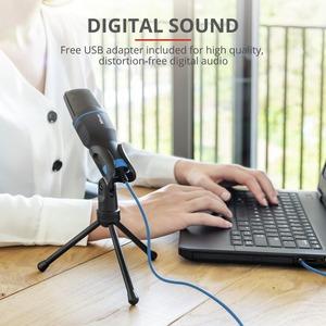 Microfono Trust Mico - Cavo - Condensatore - 1,80 m - 50 Hz a 16 MHz -45 dB - Omni-directional - Palmare, Desktop - Mini-p