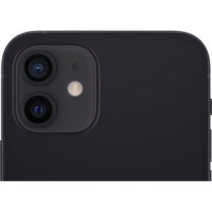 "Apple iPhone 12 64 GB Smartphone - 15.5 cm (6.1"") OLED Full HD Plus - 4 GB RAM - iOS 14 - 5G - Black - Bar - 2 SIM Support"