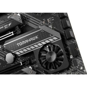 MSI MAG X570 TOMAHAWK WIFI Desktop Motherboard - AMD Chipset - Socket AM4 - ATX - 128 GB DDR4 SDRAM Maximum RAM - DIMM, UD