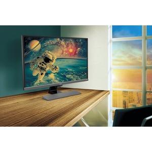 "Monitor LCD da gaming BenQ EW3270U 80 cm (31,5"") 4K UHD LED - 16:9 - Grigio metallizzato - 812,80 mm Class - Vertical Alig"
