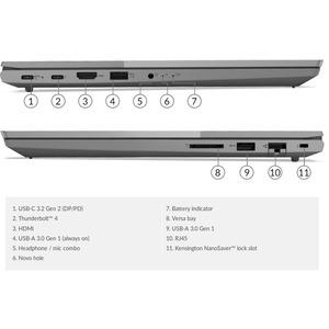 "Lenovo ThinkBook 15 G2 ITL 20VE009BMB 39.6 cm (15.6"") Notebook - Full HD - 1920 x 1080 - Intel Core i5 11th Gen i5-1135G7"