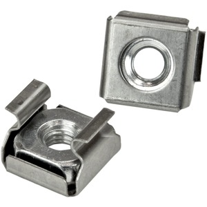 StarTech.com 100 Pkg M5 Mounting Screws and Cage Nuts for Server Rack Cabinet - Rack Screw