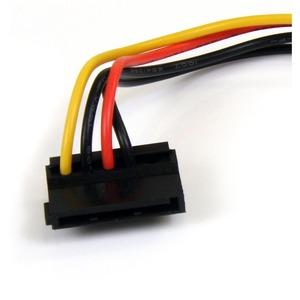 StarTech.com Adapter Cord - 15.24 cm - For Hard Drive - SATA / LP4 - 1 Pcs
