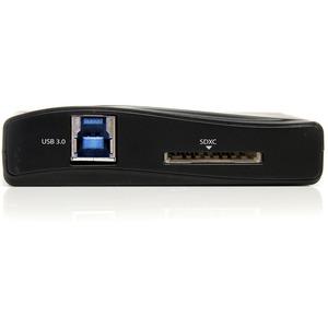 StarTech.com 16-in-1 Flash Reader - USB 3.0 - External - CompactFlash Type I, CompactFlash Type II, SD, MultiMediaCard (MM