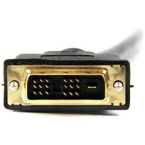 StarTech.com 15m HDMI to DVI-D Cable - M/M - 15m DVI-D to HDMI - DVI-D to HDMI - HDMI to DVI Converters - First End: 1 x H