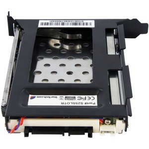 """StarTech.com 2.5in SATA Removable Hard Drive Bay for PC Expansion Slot - 1 x HDD Supported - 1 x SSD Supported - 1 x 2.5"""""""