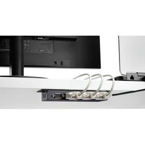 StarTech.com USB to Serial Adapter Hub - 4 Port - Industrial - Wall Mount - Din Rail - COM Port Retention - FTDI USB Seria