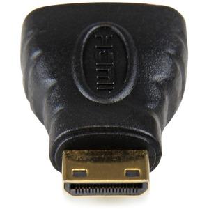 StarTech.com HDMI® to HDMI Mini Adapter - HDMI Female to Mini HDMI Male for camera to a High Definition TV or Monitor - 1