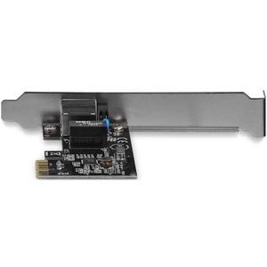 Adaptador Tarjeta de Red NIC PCI Express PCI-e 1 Puerto Gigabit Ethernet RJ45 - Perfil Bajo y Estándar StarTech.com ST1000