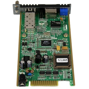 StarTech.com Gigabit Ethernet Fiber Media Converter Card Module with Open SFP Slot - Convert and extend a Gigabit Ethernet