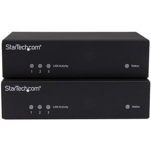 StarTech.com Extensor HDMI por CAT5e / CAT6 con Alimentación por Cable Ethernet PoC RS232 IR y 10/100 - 100m - 1 Dispositi