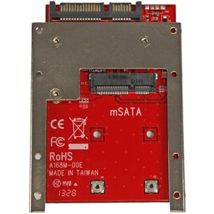 """StarTech.com Convertitore adattatore SSD mSATA a SATA da 2,5"""" - 1 x SSD supportato"""