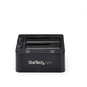 """StarTech.com USB 3.0 Dual Hard Drive Docking Station with UASP for 2.5 / 3.5in HDD / SSD - USB 3.5"""" SATA HDD / SSD Dock -"""