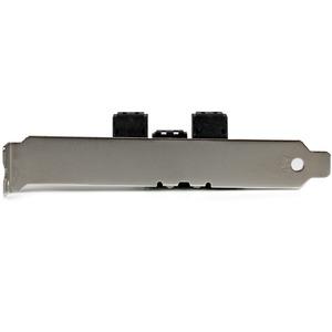 StarTech.com SATA Controller - Serial ATA/600 - Serial ATA - Low-profile - Plug-in Card - TAA Compliant - 6 Total SATA Por