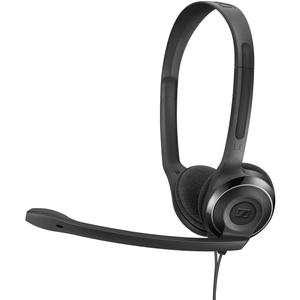 Cuffie Sennheiser PC 8 USB Cavo Over-the-head Stereo - Nero - Binaural - Supra-aural - 32 Ohm - 42 Hz a 17 kHz - 200 cm Ca