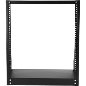 StarTech.com 2 Post Open Frame Rack - 12U Heavy Duty Rack - Compact - Open Frame - Network Equipment Rack (2POSTRACK12) -