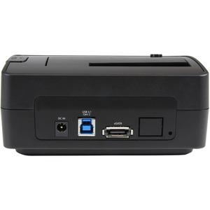 "StarTech.com USB 3.1 Hard Drive Dock - USB C / USB A / eSata - 2.5 / 3.5"" SATA SSD/HDD Drives - Hard Drive Docking Station"