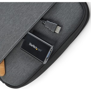 HDMI to VGA Adapter – 1920x1080 – HDMI Converter with Audio Output – VGA to HDMI Monitor Adapter (HD2VGAA2)