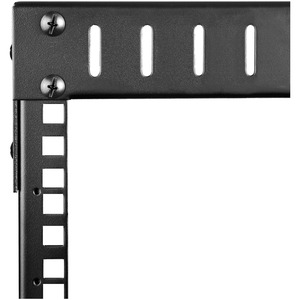 "8U Open Frame Wall Mount Network Rack - 2-Post Adjustable Depth (12"" to 20"") Computer & Server Equipment Rack - 135.3 lbs"