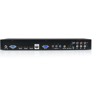 Multiple Video Input with Audio to HDMI Scaler Switcher - HDMI / VGA / Component - HDMI Converter Switch (VS721MULTI)
