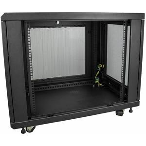 StarTech.com Server Rack Cabinet - 12U - 79cm 31in. Deep Enclosure - Network Cabinet - Rack Enclosure Server Cabinet - Dat