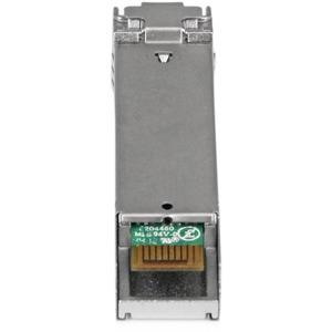 StarTech.com Módulo Transceptor SFP de Fibra LC Monomodo 1000Base-ZX MSA de 1000Mbps DDM DOM - Hasta 80km - Para Redes Ópt