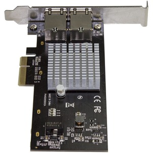 StarTech.com Dual Port 10G PCIe Network Adapter Card - Intel-X550AT 10GBASE-T PCI Express 10GbE Multi Gigabit Ethernet 5 S