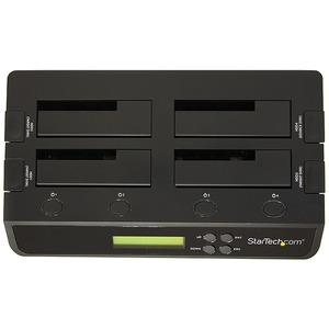 "4 Bay USB 3.0/ eSATA Hard Drive Duplicator Dock for 2.5"" & 3.5"" SATA/ IDE SSD HDD - Standalone 1:3 Copier Docking Station"