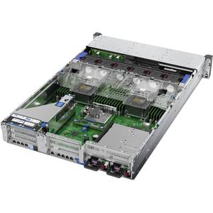 HPE ProLiant DL380 G10 2U Rack Server - 1 x Intel Xeon Silver 4110 2.10 GHz - 16 GB RAM HDD SSD - Serial ATA/600, 12Gb/s S