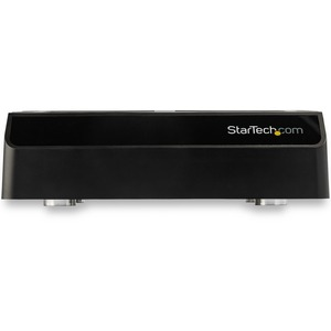 StarTech.com Drive Dock - USB 3.1 Type C Host Interface - UASP Support External - Black - Hot Swappable Bays - 4 x HDD Sup
