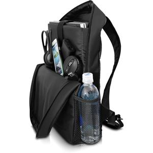 """V7 Essential CBK1-BLK-9E Carrying Case (Backpack) for 39.6 cm (15.6"""") Notebook - Black - Polyester - Shoulder Strap"""