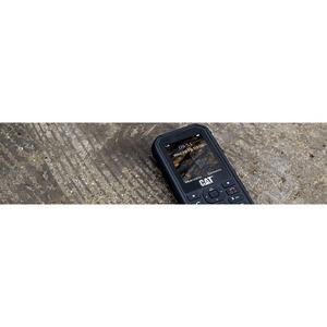 "Caterpillar B26 Feature Phone - 6.1 cm (2.4"")QVGA 320 x 240 - 2G - Black - Bar - 2 SIM Support - SIM-free - Rear Camera: 2"