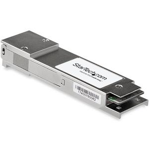 StarTech.com JG325B-ST QSFP+ - 1 x MPO 40GBase-SR4 Network - For Optical Network, Data Networking - Optical Fiber - Multi-