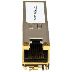 StarTech.com SFP-TX-ST SFP (mini-GBIC) - 1 RJ-45 Female 10/100/1000Base-TX Network LAN - For Data Networking - Twisted Pai