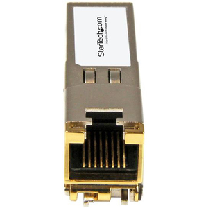 StarTech.com SFP-TX-ST SFP (mini-GBIC) - 1 RJ-45 Female 10/100/1000Base-TX Network LAN - For Data Networking - Twisted Pai