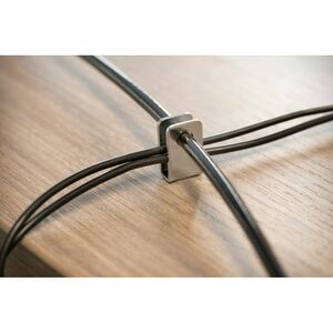 Cable de Bloqueo Kensington K64424WW Para Computadora de escritorio - 2.44m Cable - Negro - Acero al carbono - Para Comput